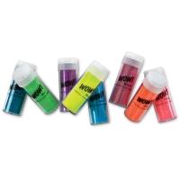 Extra Fine Neon Glitter, Set of 8