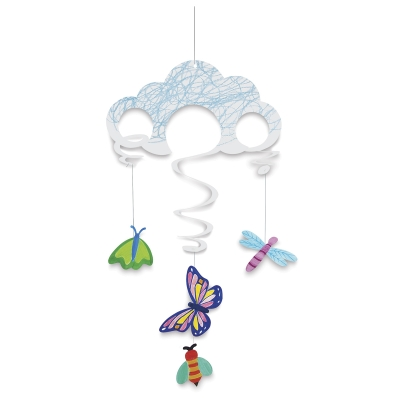 Roylco Sky Mobile, Decorated Example