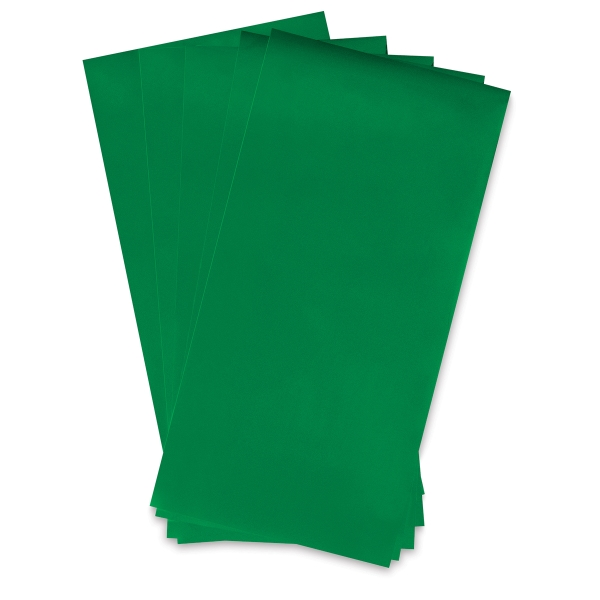 Green, Package of 5 Sheets