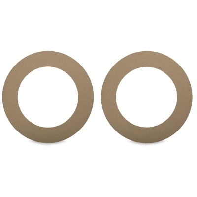 "Chipboard Wreath Rings, 12"", Pkg of 2"