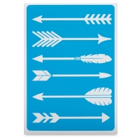 Adhesive Screen Stencil, Arrows