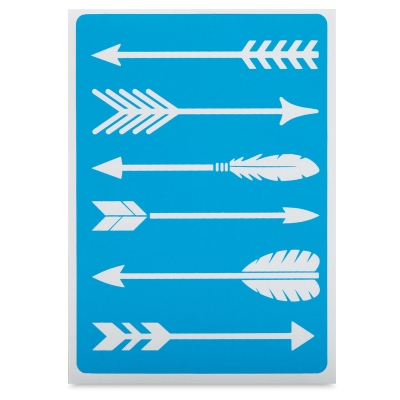 Adhesive Screen Stencil, Arrows
