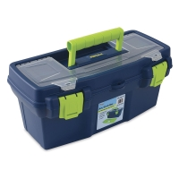 "16"" Box, Blue/Green"