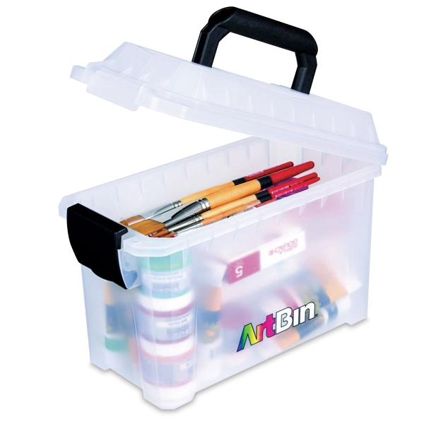 Sidekick Storage Bin, Mini Translucent (Materials not included)