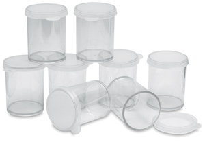Plastic Storage Container, Multi Pack of 8