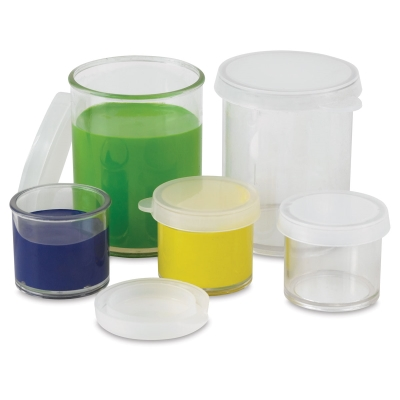 Clear Plastic Storage Container Multi Packs BLICK art materials