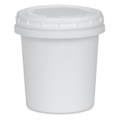 Plastic Bucket with Lid, 16 oz
