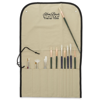 Travel Tote, Long Handle(Brushes not included)