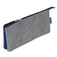 Profolio Midtown Pouch, Gray/Blue