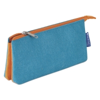 Profolio Midtown Pouch, Ocean/Orange