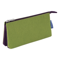 Profolio Midtown Pouch, Green/Purple