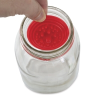 Paint Puck Brush Cleaner in use