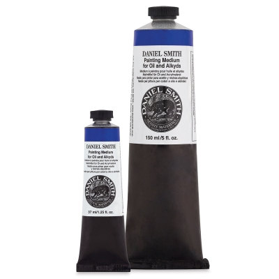 Daniel Smith Painting Medium, 37 ml and 150 ml tubes shown