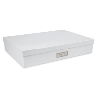 White Laminate Document Box