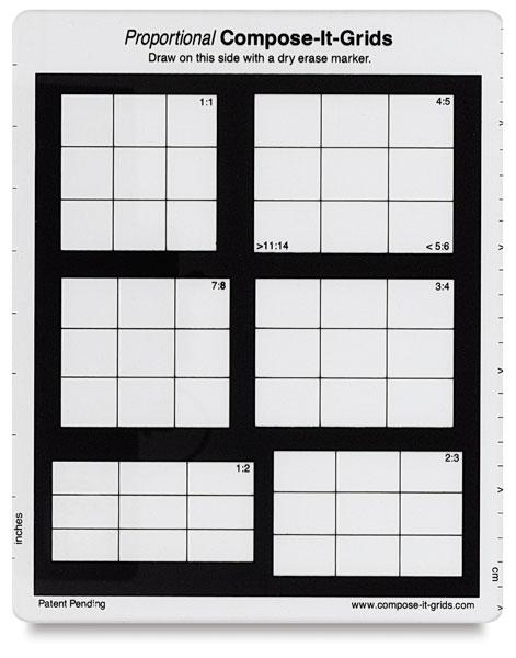 """<nobr>8"""" × 10""""</nobr>, 6 Grids in 1"""
