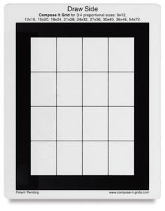 """<nobr>8"""" × 10""""</nobr>, Single Grid 3:4"""