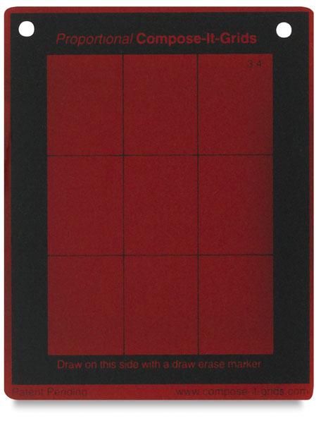 """<nobr>4"""" &times; 5""""</nobr>, Red Tinted Value Finder"""