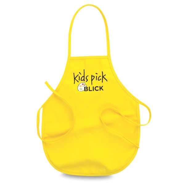 Small Kid's Apron, Yellow
