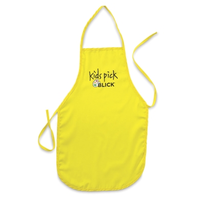 Large Kid's Apron, Yellow