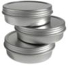 Empty Aluminum Tin, 2 oz