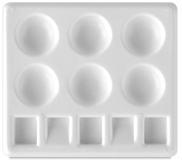 "Plastic Palette Tray, 5"" x 4-1/4"""