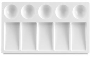 "Plastic Palette Tray, 4¼"" × 7½"""
