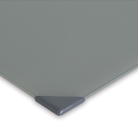 Posh Glass Tabletop Palette, Gray