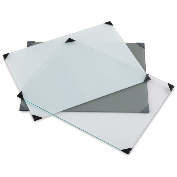 Posh Glass Tabletop Palettes