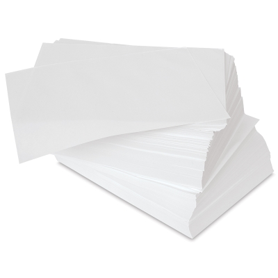"Disposable Palette Paper Bulk Pack, 2500 Sheets, 9"" x 12"""