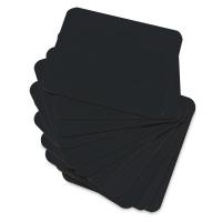 Single-Sided Black Chalkboard Learning Boards, Pkg of 12