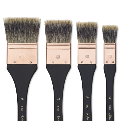 Atelier Badger Blend Flat Mottler Brushes
