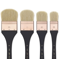Atelier Hog Bristle Oval Mottler Brushes