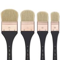 Atelier Hog Bristle Oval Mottler Brushes