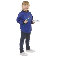 Kids' Waterproof Smock, Blue