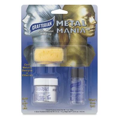 Metal Mania Powered Metal Kit, Silver