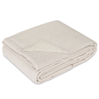 Stay Put Canvas Drop Cloth w/Spill Block,  9 ft x 12 ft