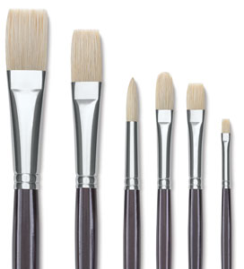 Natural Chungking Pure Bristle Brushes