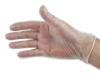 Clear Vinyl Gloves, Pkg of 10
