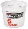 Plastic Tub, 5 Quart