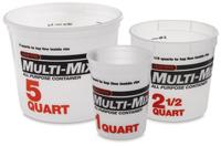 Multi-Mix Plastic Tub