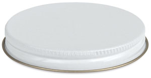 Screw-on Metal Cap, Fits 8 oz Jar