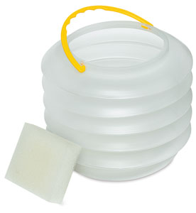 Collapsible Water Pot, Shown Expanded