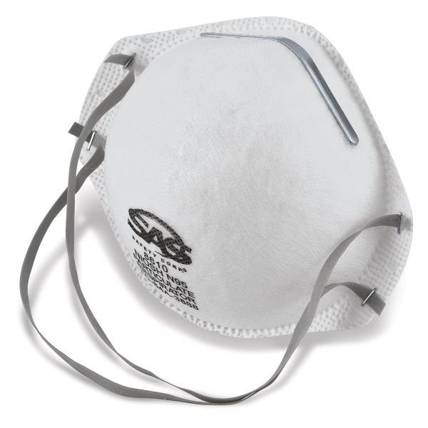 N95 Particulate Respirator, Pkg of 20