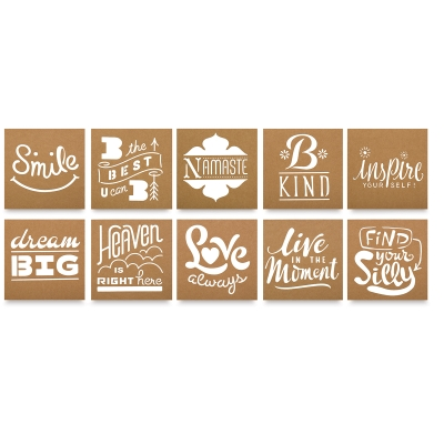 Faber-Castell Design Memory Craft Mixed Media Stencils