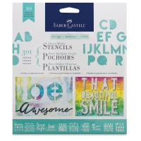 Faber-Castell Design Memory Craft Mixed Media Stencils