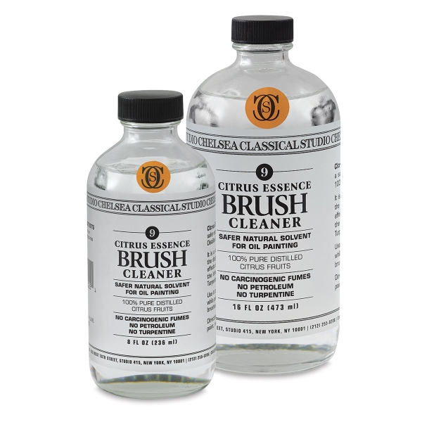 Citrus Essence Brush Cleaner