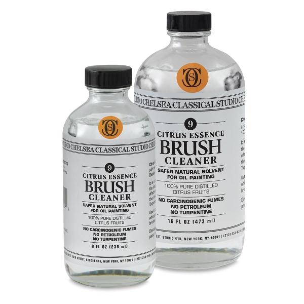 Citrus Essence Brush Cleaner