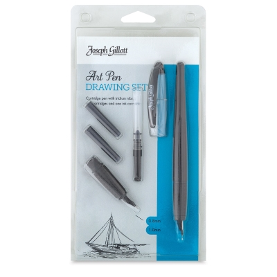 Joseph Gillott Art Pen Drawing Set