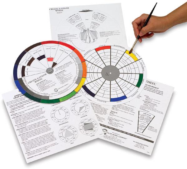 Create-a-Color Wheel, Pkg of 10