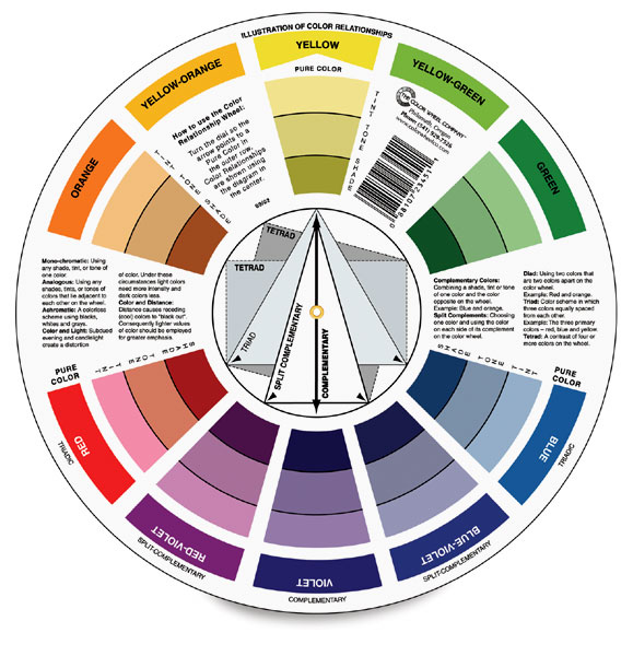 Artist S Color Wheel Blick Art Materials Rh Dickblick Com For Class